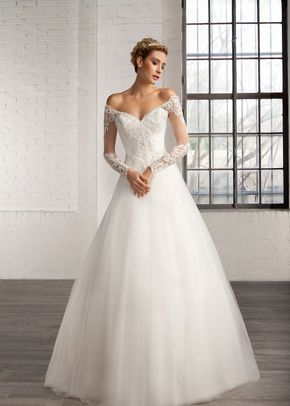 R614, White Rose Bridal