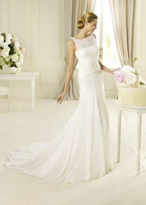 R532, White Rose Bridal
