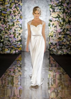 R513, White Rose Bridal