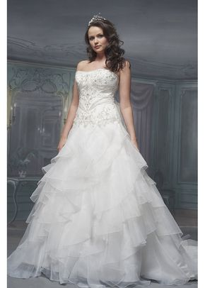 R429, White Rose Bridal
