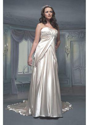 R489, White Rose Bridal
