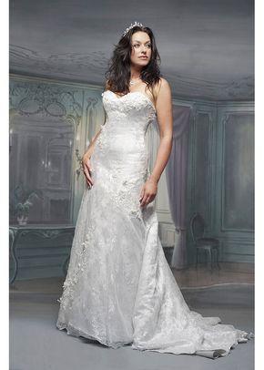 R491, White Rose Bridal