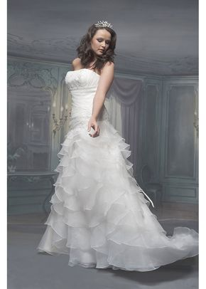 R514, White Rose Bridal