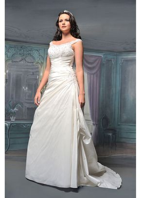 R527, White Rose Bridal