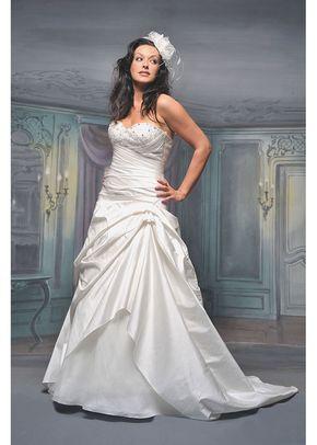 R536, White Rose Bridal