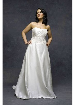 Wedding Dresses White Rose Plus
