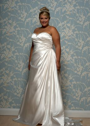 Dresses White Rose Plus