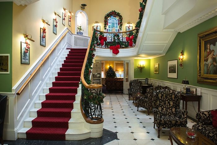 Christmas time at the Dromhall