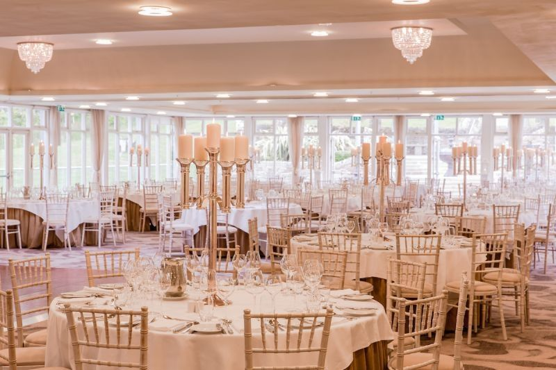 Lough Eske Castle Ballroom