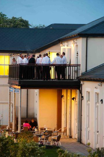 Aungier Suite Balcony