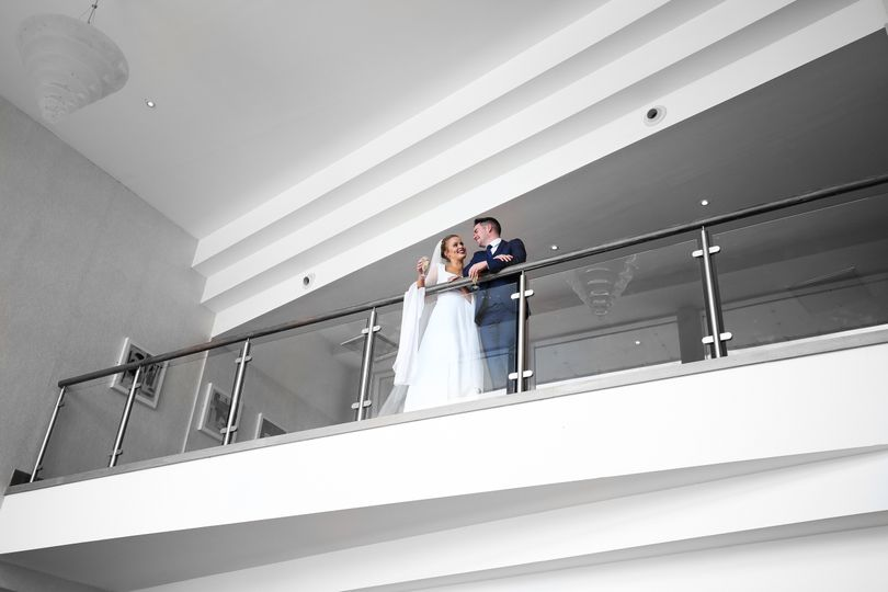 Bride and Groom in our conference centre