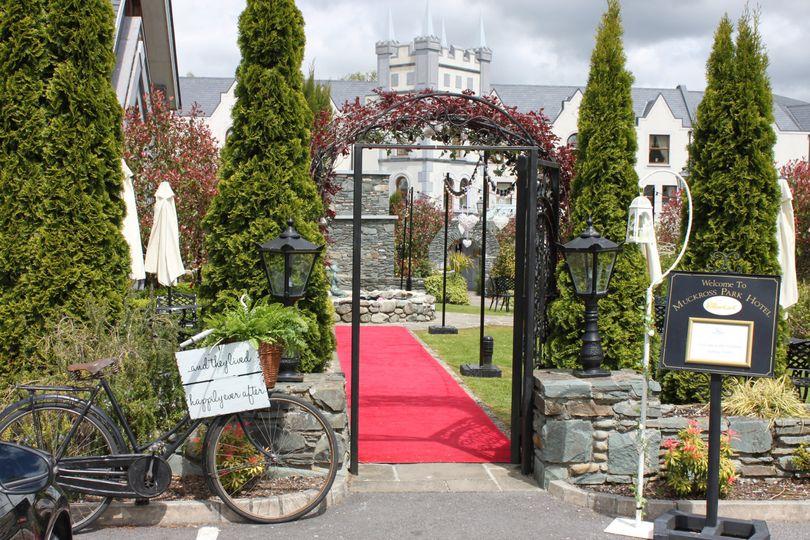 Atrium Garden Entrance