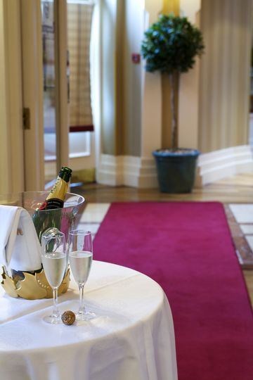 Champagne Reception