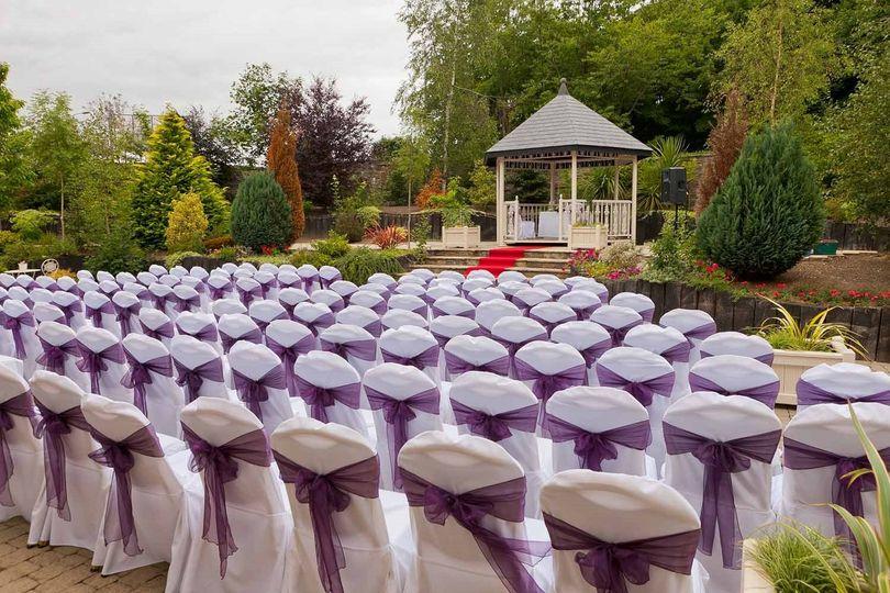 Civil ceremony in the Gazebo