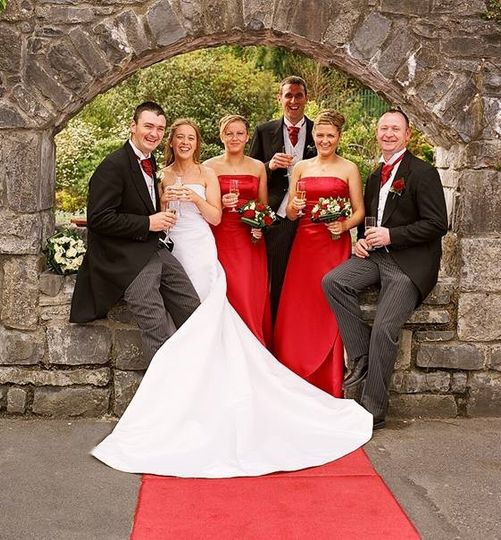 Arch into the Cara Suite for your Wedding reception
