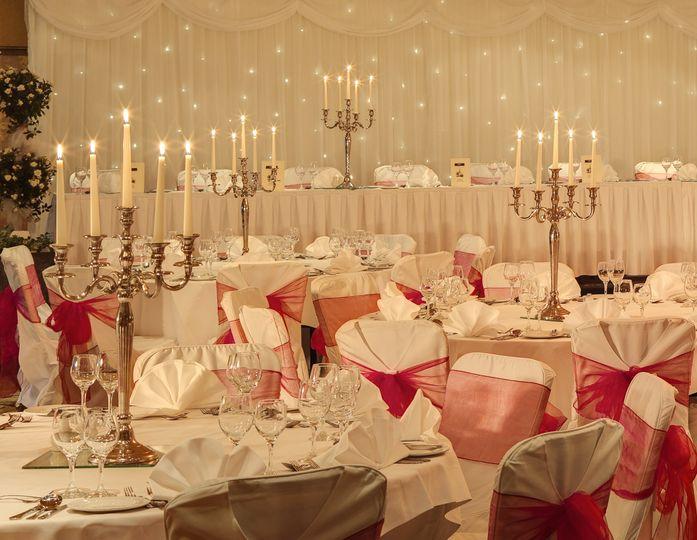 'Poppyfield Suite' Wedding Room Set Up