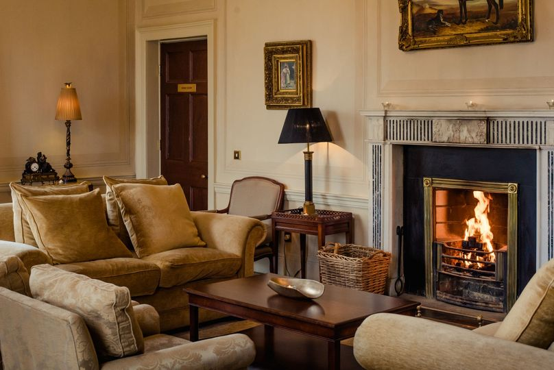 Reception Room in The Manor House