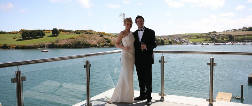 Private Balcony Overlooking Kinsale Harbour