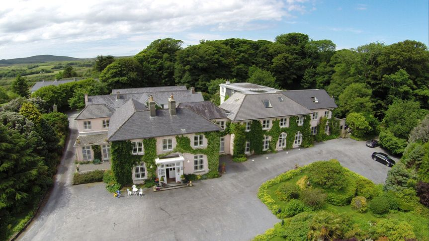 Aeriel view of House