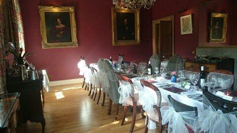 Sunny Diningroom Wedding Feast