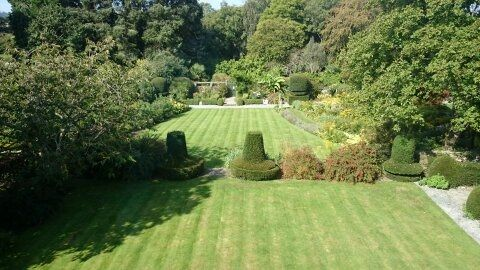 Our Walled Garden view from the Magnolia Room