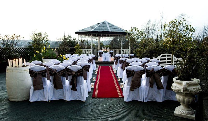 Rooftop Garden Twilight Ceremony