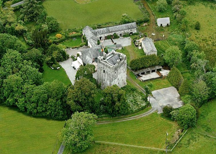 Ballaghmore Castle - set in 30 acres.