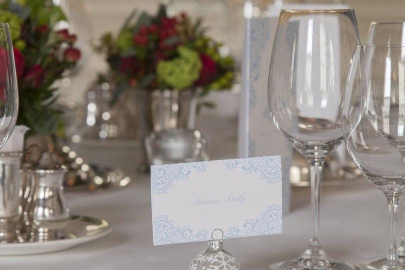 Festive Wedding Setting