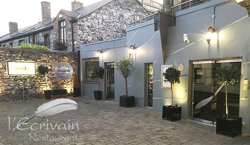 l'Ecrivain Restaurant Entrance