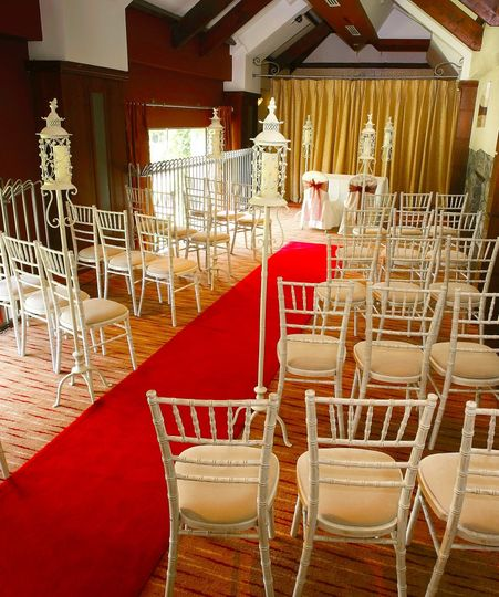 Ceremony Layout in the Riverbank