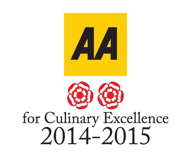 Our 2 AA Rosette restaurant
