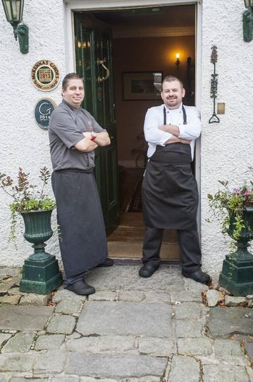 Our chefs - Stephane and Allan