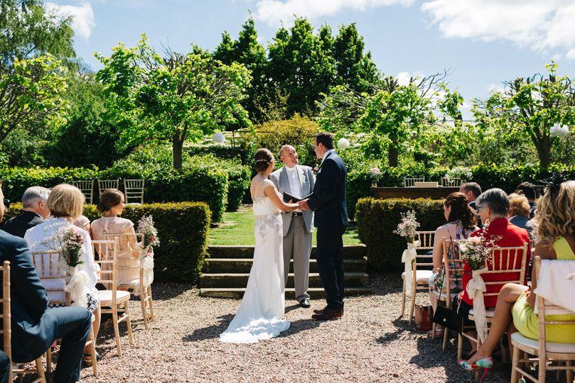 Ceremony in the Sunken Garden