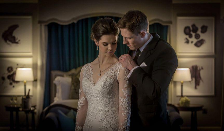 Bridal Suite Bride and Groom