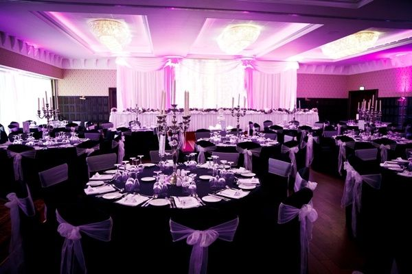 Grand Ballroom Black Tie Wedding