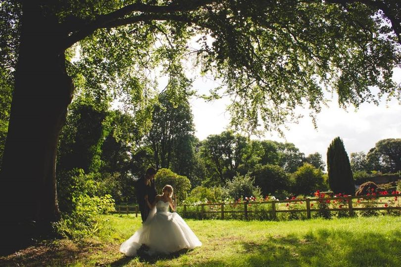 The swing by the Walled Garden
