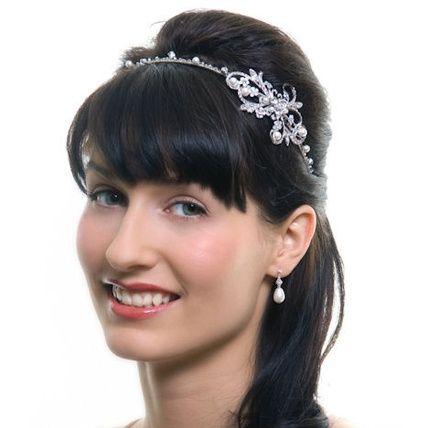 Rhinestone Ribbon Hairband