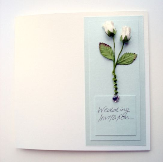 White Rose Invitations