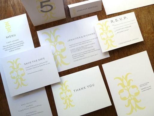 Ornament Printable Wedding Kit