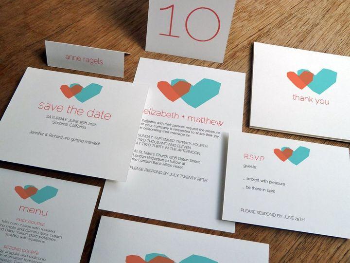 Two Hearts Printable Wedding Kit