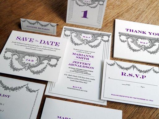 Manor Printable Wedding Kit