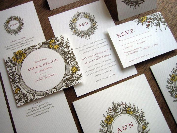 Monogram Printable Wedding Kit