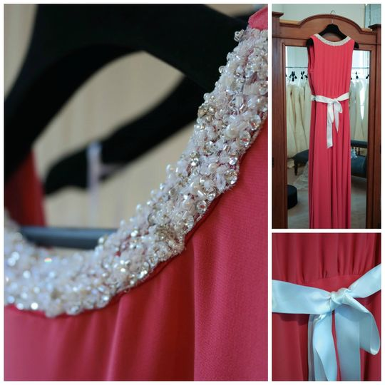 Beaded Bridesmaid Dress From Dresscode