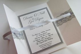 On Silver Pond Wedding Stationery