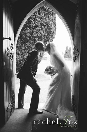 Church Door Kiss