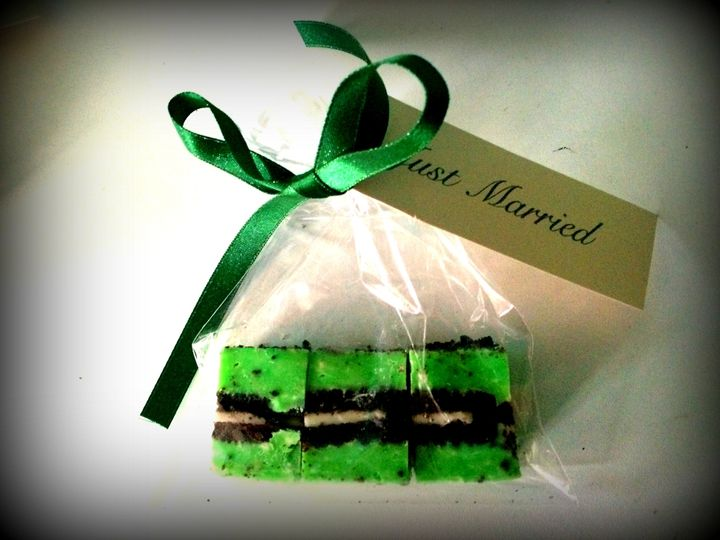 Wedding favour - mint oreo
