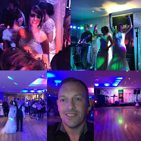 Music and DJs LIVEWIRE WEDDING BAND 7