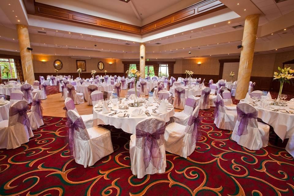 Our wedding ballroom
