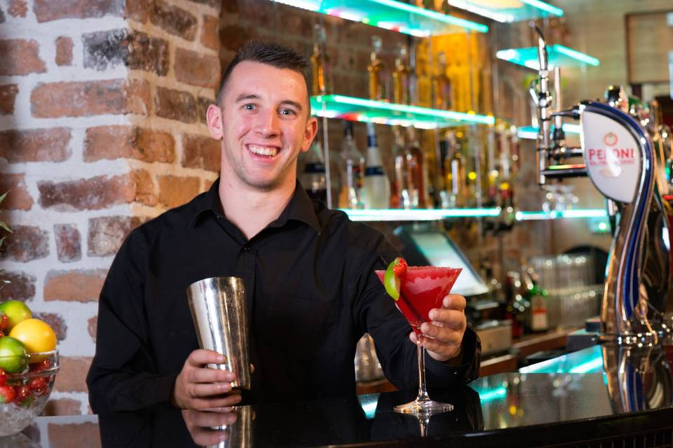 Freshly Made Cocktails in D-Bar