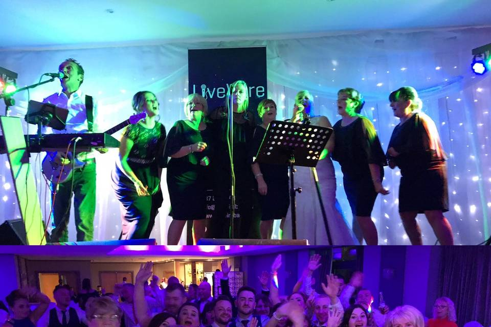 Music and DJs LIVEWIRE WEDDING BAND 6